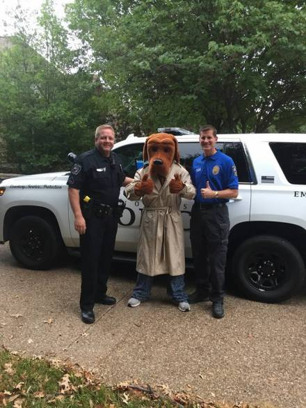 Prosper Police Department had some help from McGruff the Crime Dog during National Night Out on Tuesday October 3