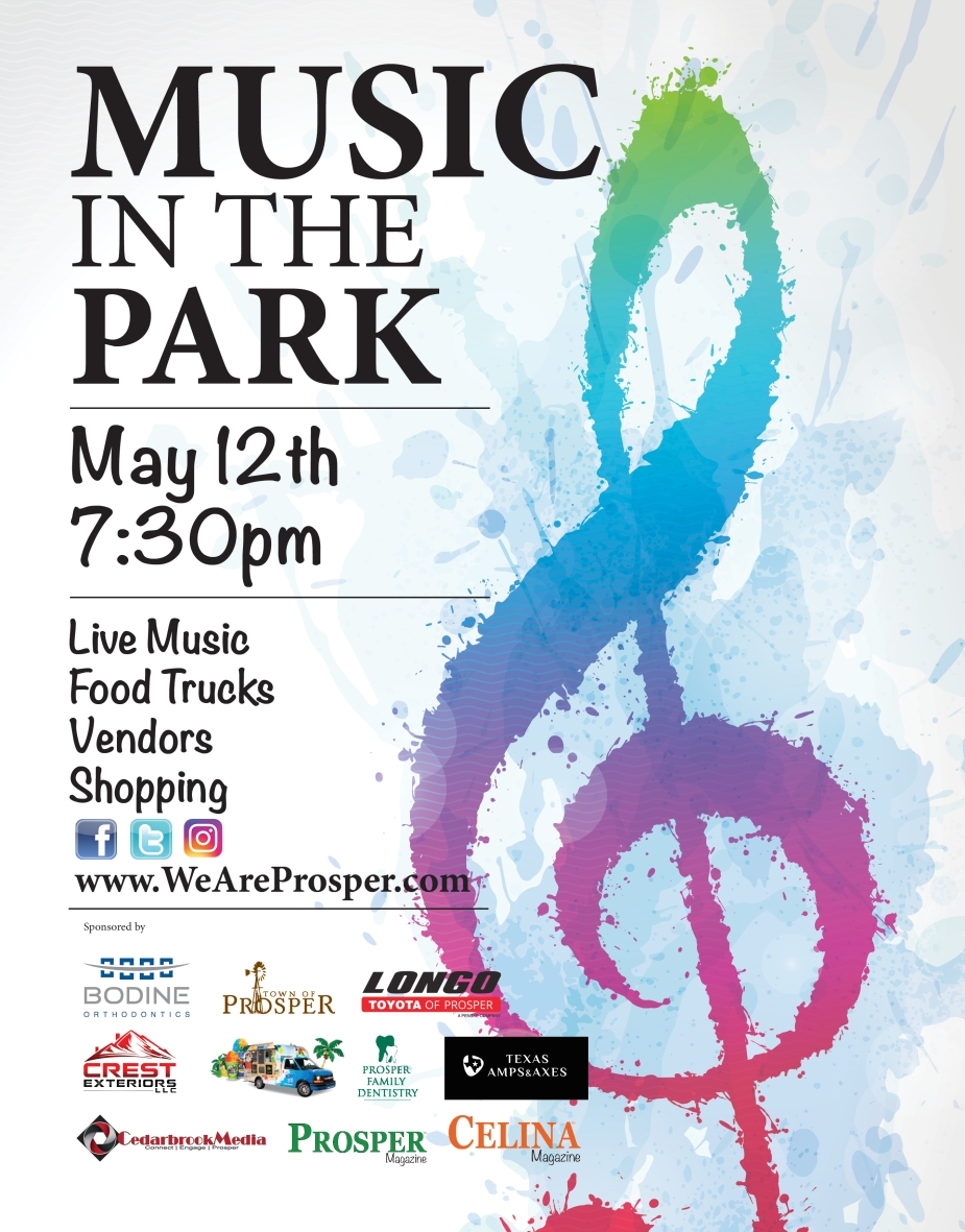Music In The Park-MagAd